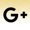 google plus logo black czerwony piach 80