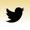twitter black czerwony piach