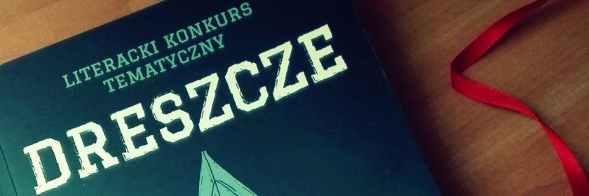 dreszcze okładka literacki konkurs tematyczny fragment2+